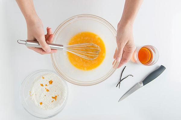 блины с апельсиновой карамелью