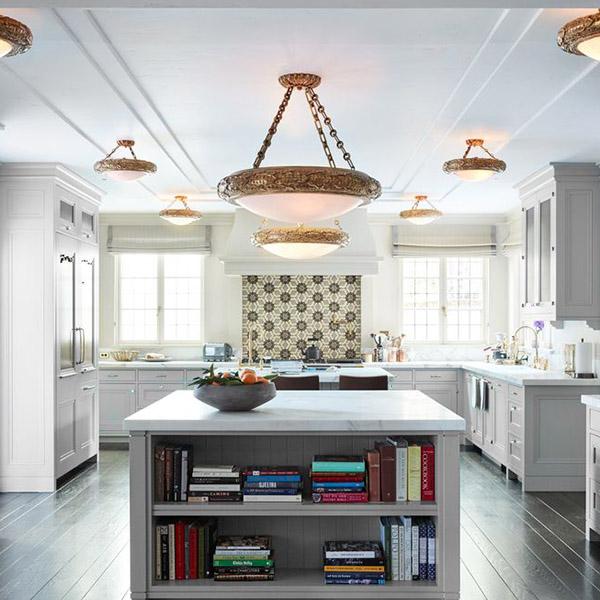 современный классический стиль на кухне