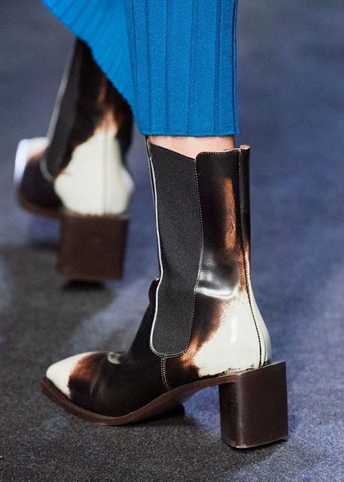 обувь с объемным каблуком
