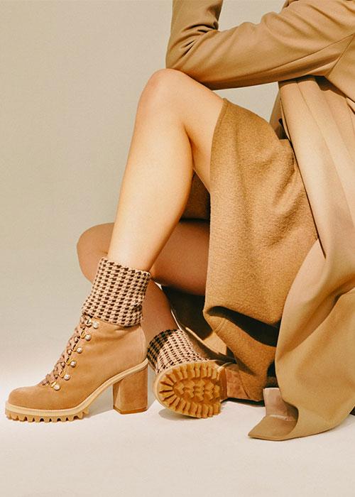 обувь с массивной подошвой