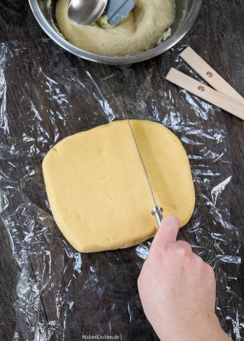 приготовление печенья марципановые подушечки