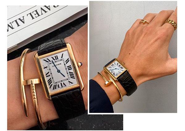 часы Tank от Cartier