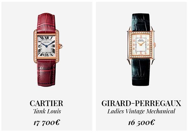 часы Cartier и Girard-Perregaux